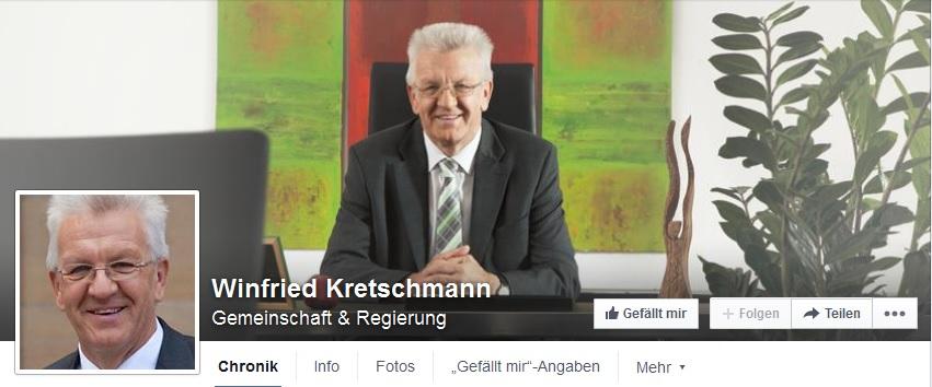 Titelbild Winfried Kretschmann