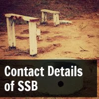 Contact Details Of Services Selection Board (SSB)