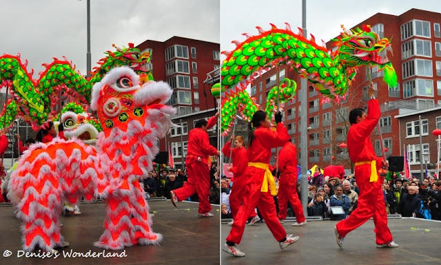 Lion Dance & Dragon Dance Performance