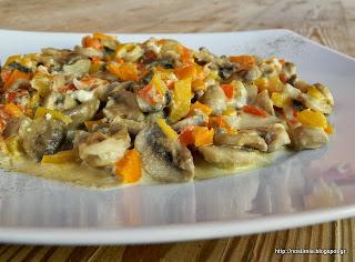 Ο δικός μου εθισμός:Μανιτάρια με φέτα-My addiction: mushrooms with feta