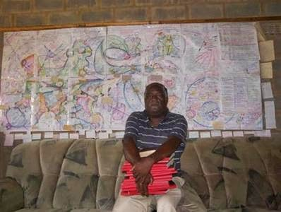 Meet 64 Year Old Man Who Went To Heaven Four Times, Draws Map [Photo]