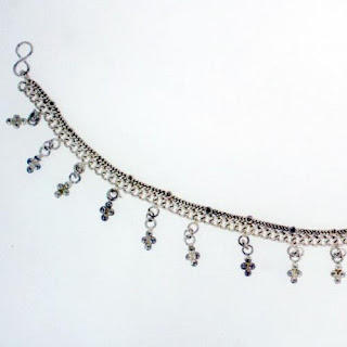 Trendy Sterling Silver Anklets
