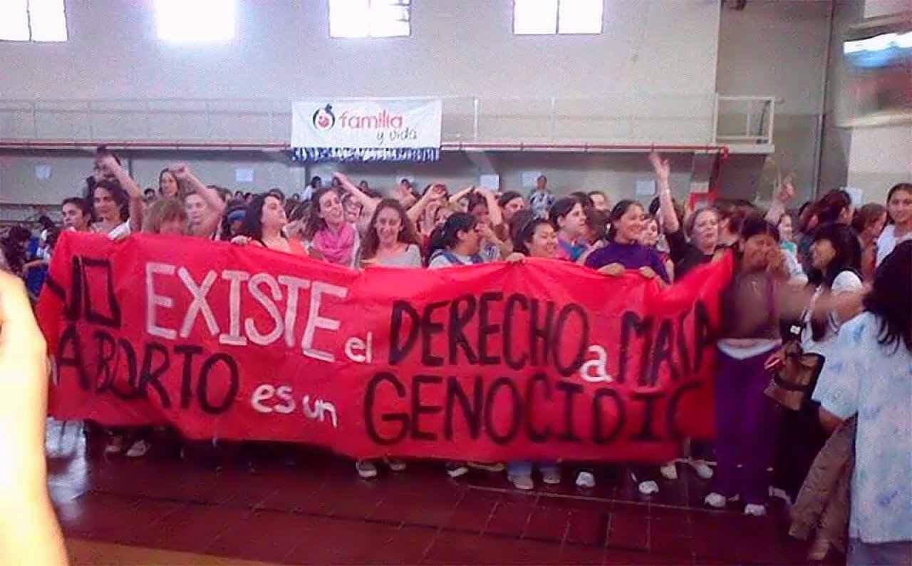 As moças pela vida argentinas foram mais espertas e corajosas
