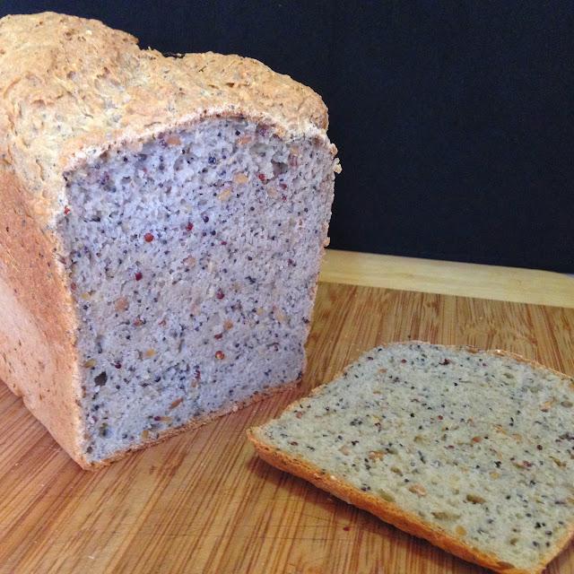 grain free GF seed loaf
