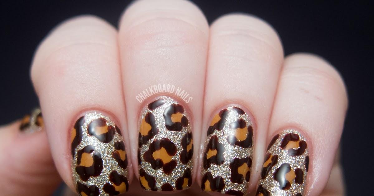 blinged leopard - china glaze