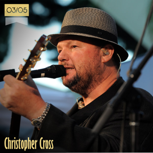 3 de mayo | Christopher Cross - @itsMrCross | Info + vídeos