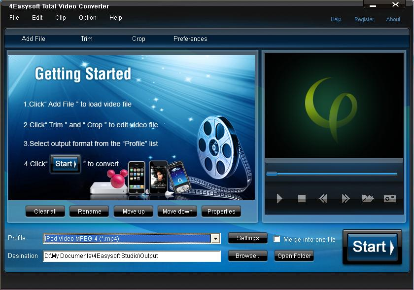 All Free Video Converter 7.2.1 - Download