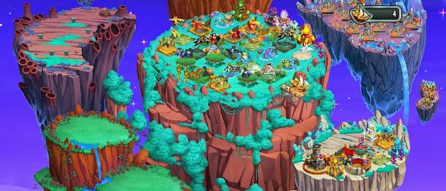imagen de las islas de monster legends