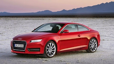 2015 Audi A5 Front View Model