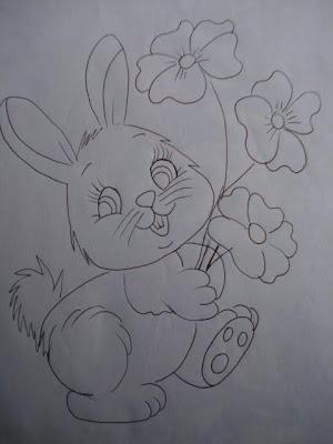 desenho coelhinha