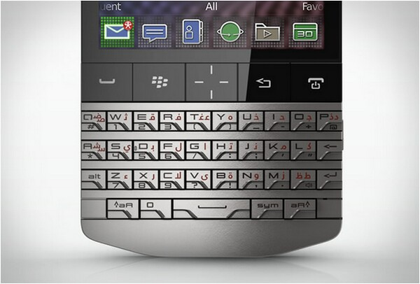 BlackBerry P9981 Smartphone by Porsche Design