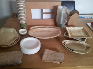 biodegradable partyware