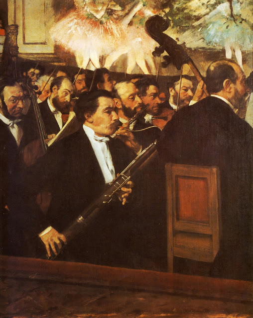 orchestra of the opera,the opera,edgar degas