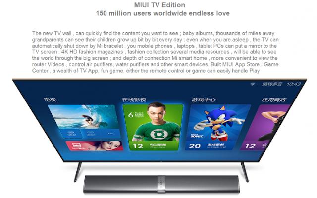 Mi TV 3 - Mi TV Bar