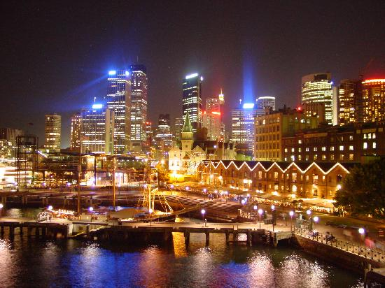 Downtown Sydney Australia.