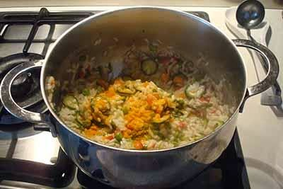 Risotto alle verdure 17