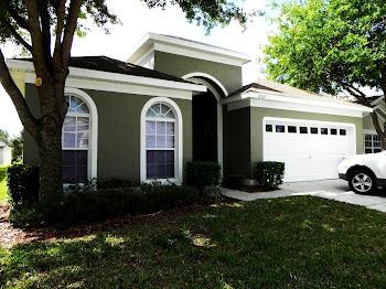 Casa com 4 quartos para férias em Orlando - Condomínio Windsor Palms (clique na foto)