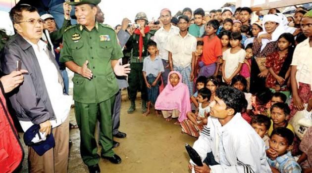 JK Tembus Blokade Myanmar, Dunia Islam Tercengang