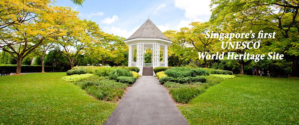 Beau Singapore Botanic Gardens Named UNESCO World Heritage Site On 4 July 2015