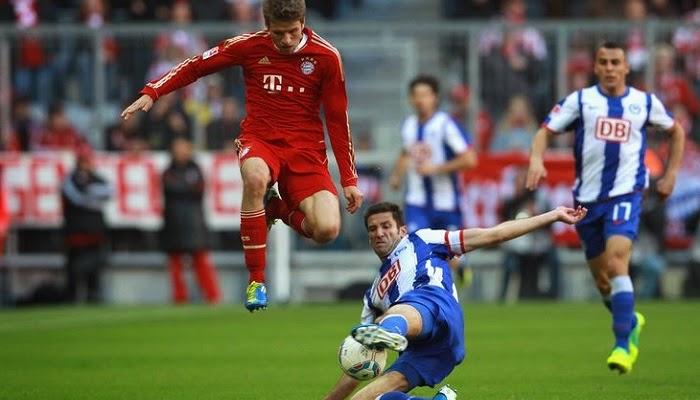 Bayern Munich vs Hertha Berlin en vivo