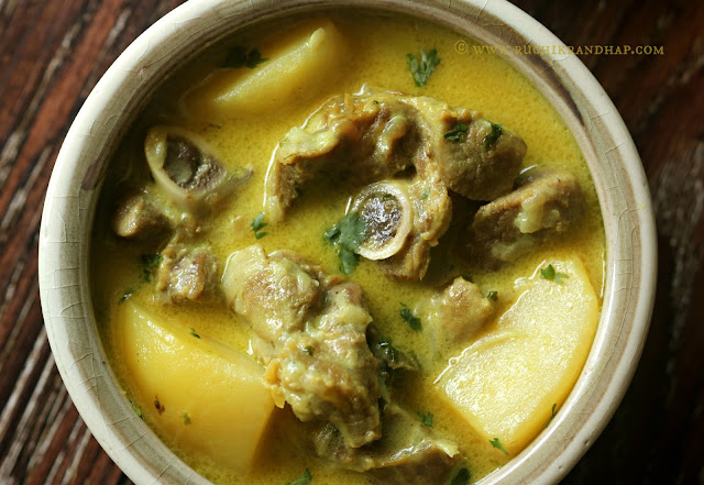 ... ): Mutton Stew ~ Mangalorean Catholic Style Coconut Milk Based Curry