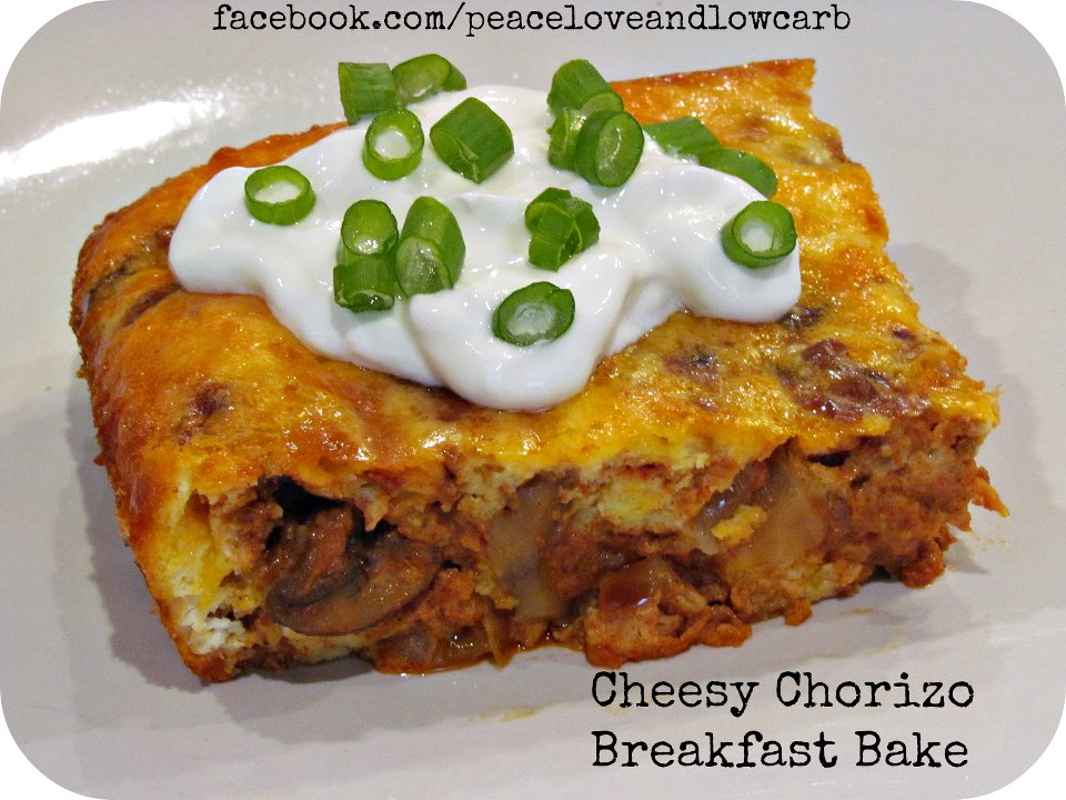 Chorizo Egg Breakfast Bake
