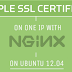 How To Set Up Multiple SSL Certificates on One IP with Apache on Ubuntu 12.04