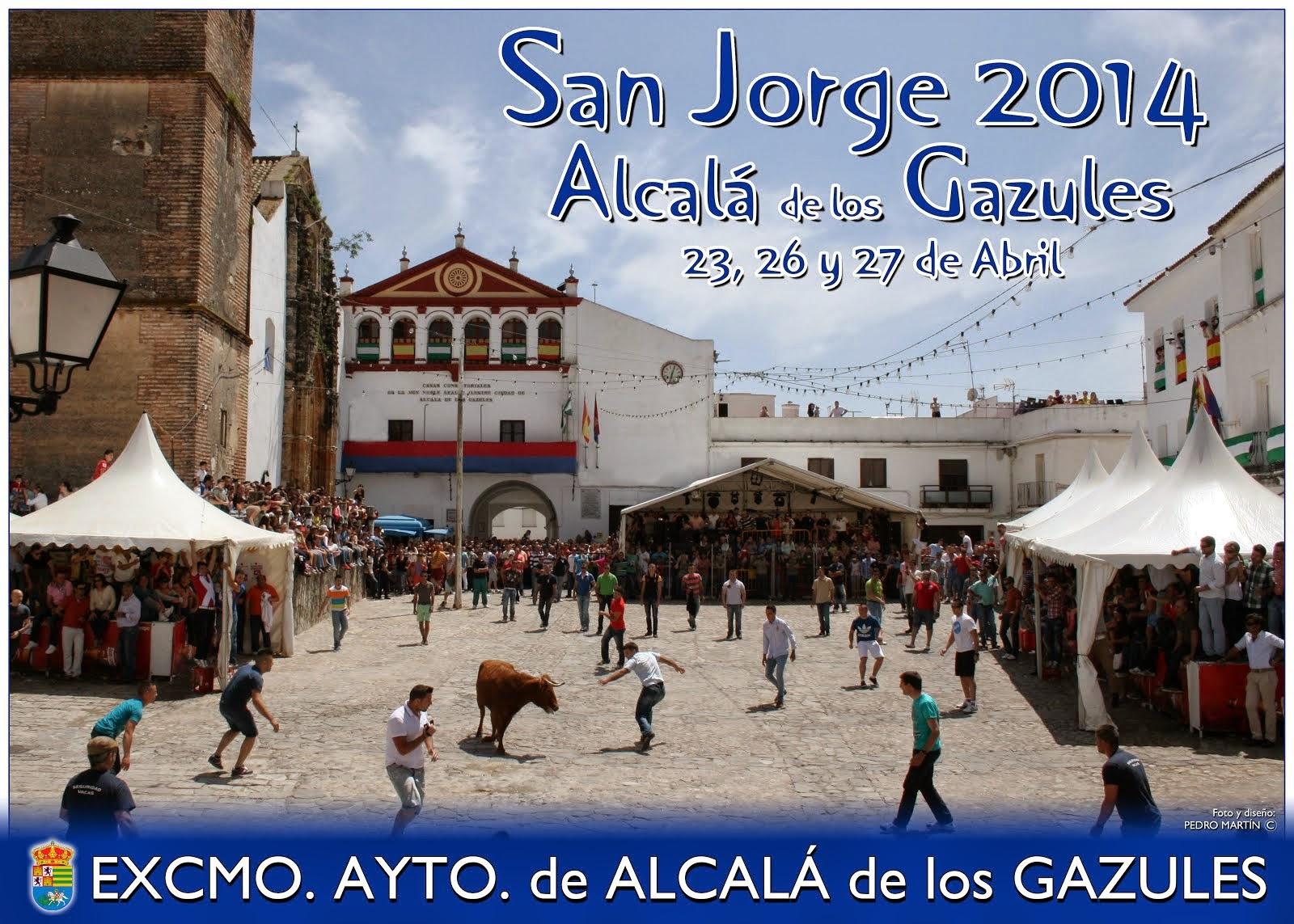 SAN JORGE 2014 - ALCALÁ DE LOS GAZULES