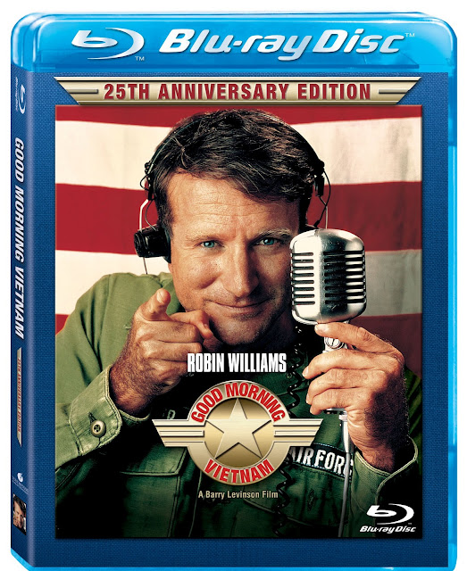 Good Morning Vietnam 25th Anniversary Edition Blu ray