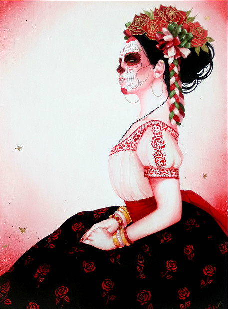 Day of The Dead Style Day of The Dead Sylvia ji