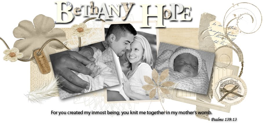 Bethany Hope-Our Angel Above