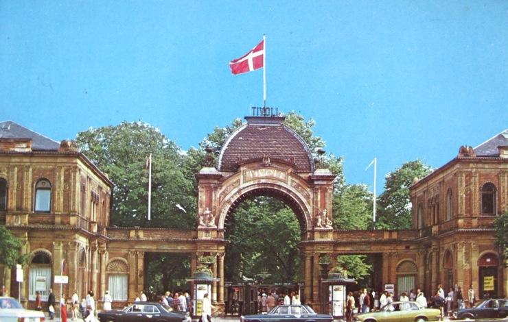 Classic Copenhagen: Vintage Copenhagen postcards