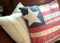 http://www.patchworkposse.com/flag-pillow-tutorial-quilt-as-you-go-technique/