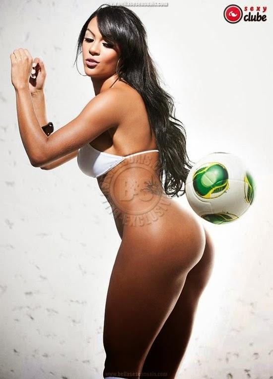 Aline Bernardes - Musa da Copa - Foto 12