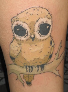 Cute Owl Tattoos