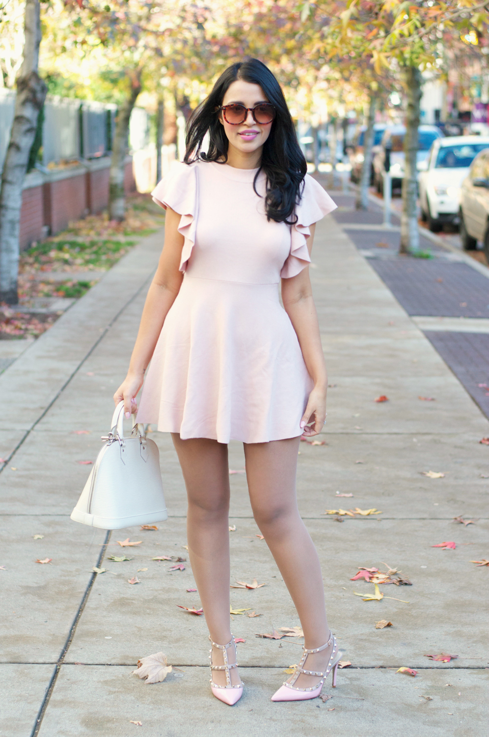 Pale Pink Knit | Gumboot Glam | A Vancouver Based Fashion and ...