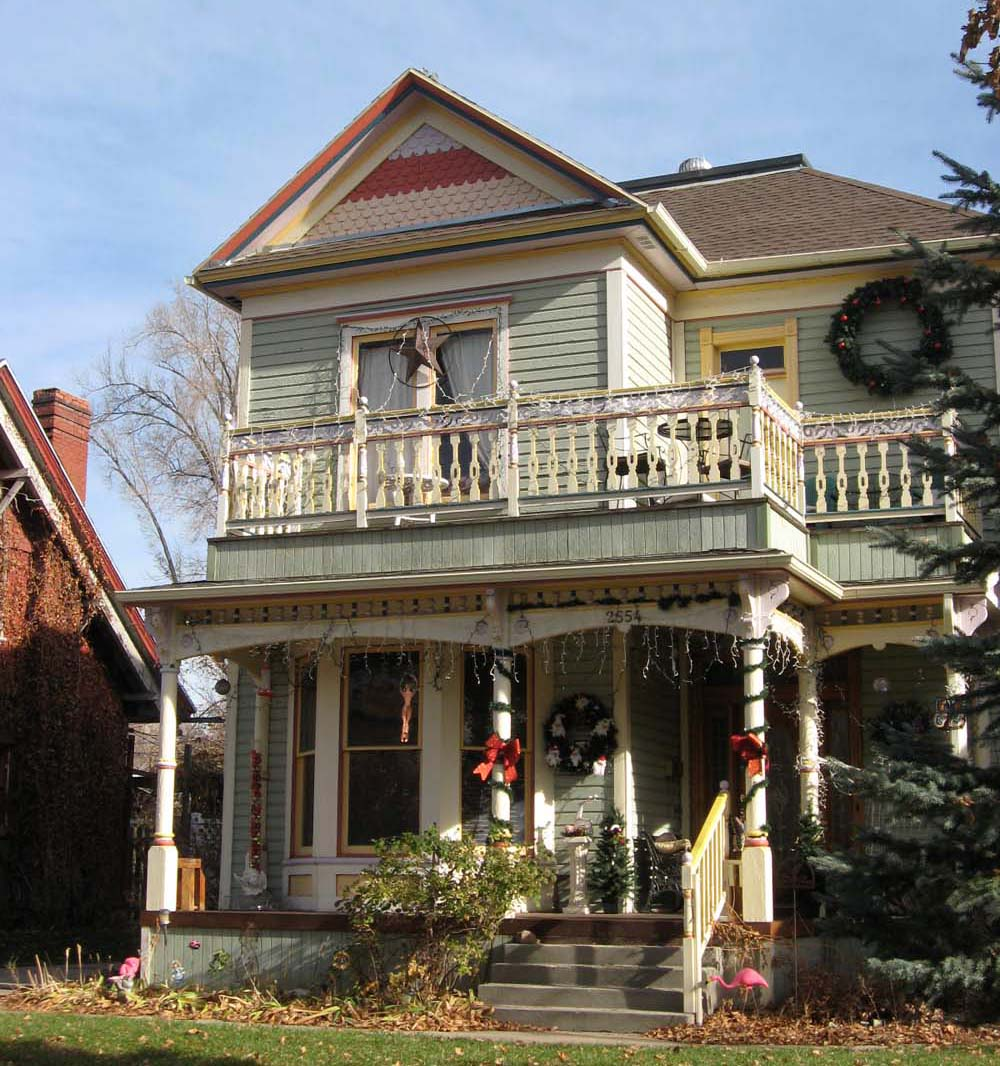 Ogden insights victorian houses front porches and vintage decor for Victorian woodwork