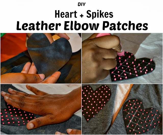diy elbow patches with tutorial