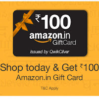 Amazon India : Buy Gift Cards Worth Rs.1000 and Get Rs.200 off : BuyToEarn