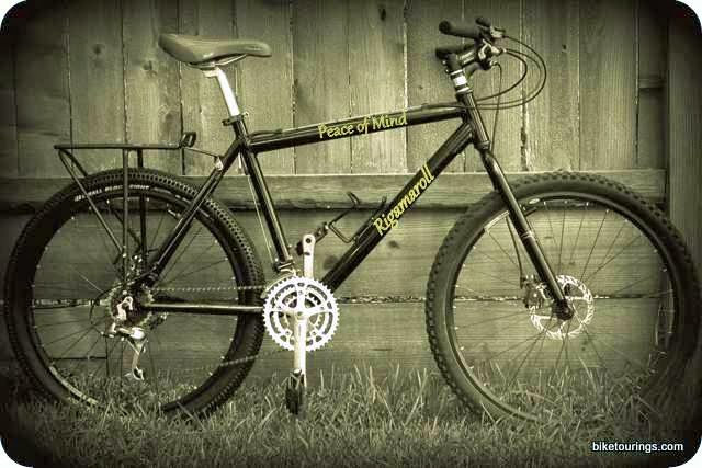 New mountain bike build with retro style