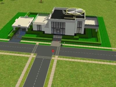 Desain Rumah (DR) & Desain Rumah The Sims \u0026 Contoh Gambar Denah Rumah 1 Kamar Tidur 3D