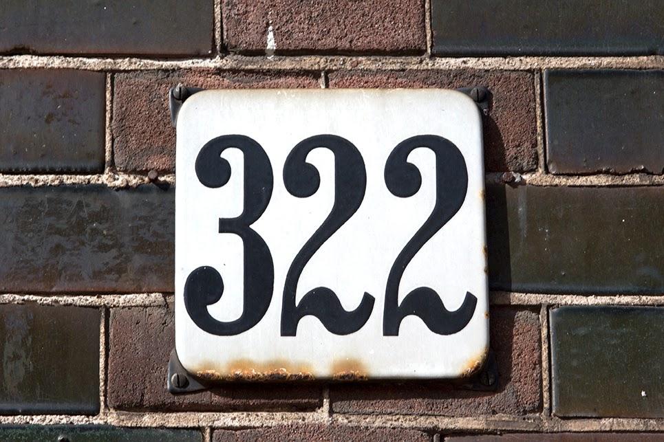street number 322
