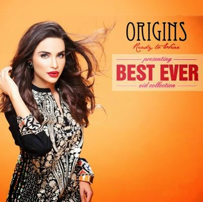 Ready to Wear Best Eid Collection 2014 by Origins