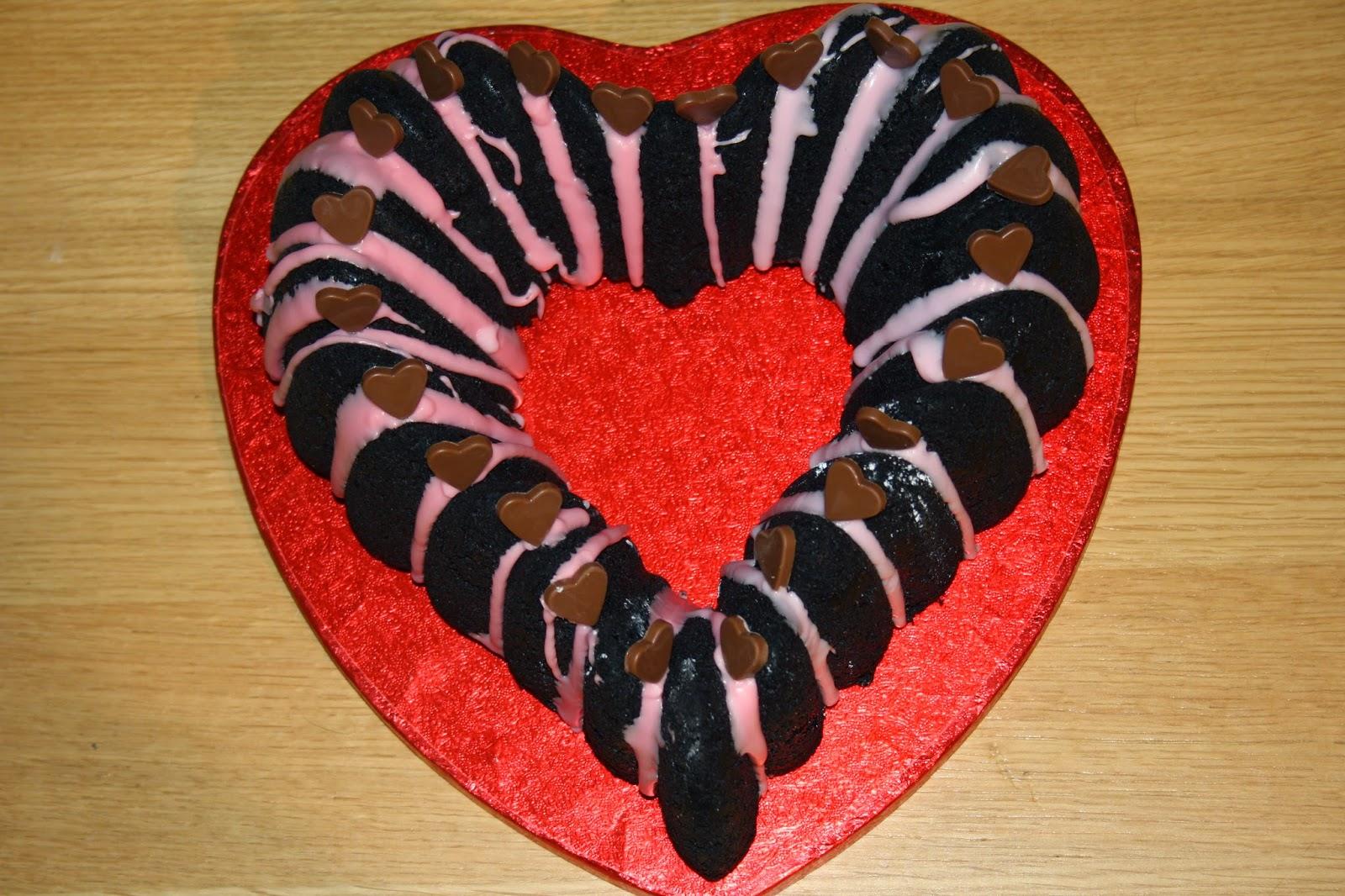 heart shaped bundt