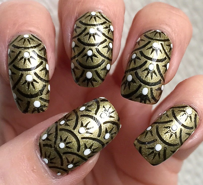 Art Deco Nail Polish Review Papillon Day Spa
