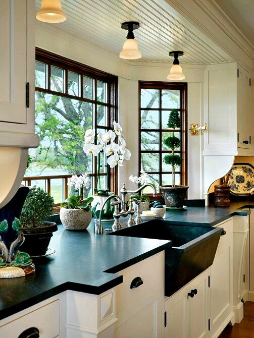 The new kitchen window a special place dwellings the for Kitchen place
