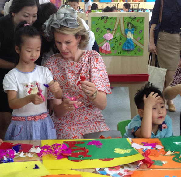 King Philippe And Queen Mathilde Visit China