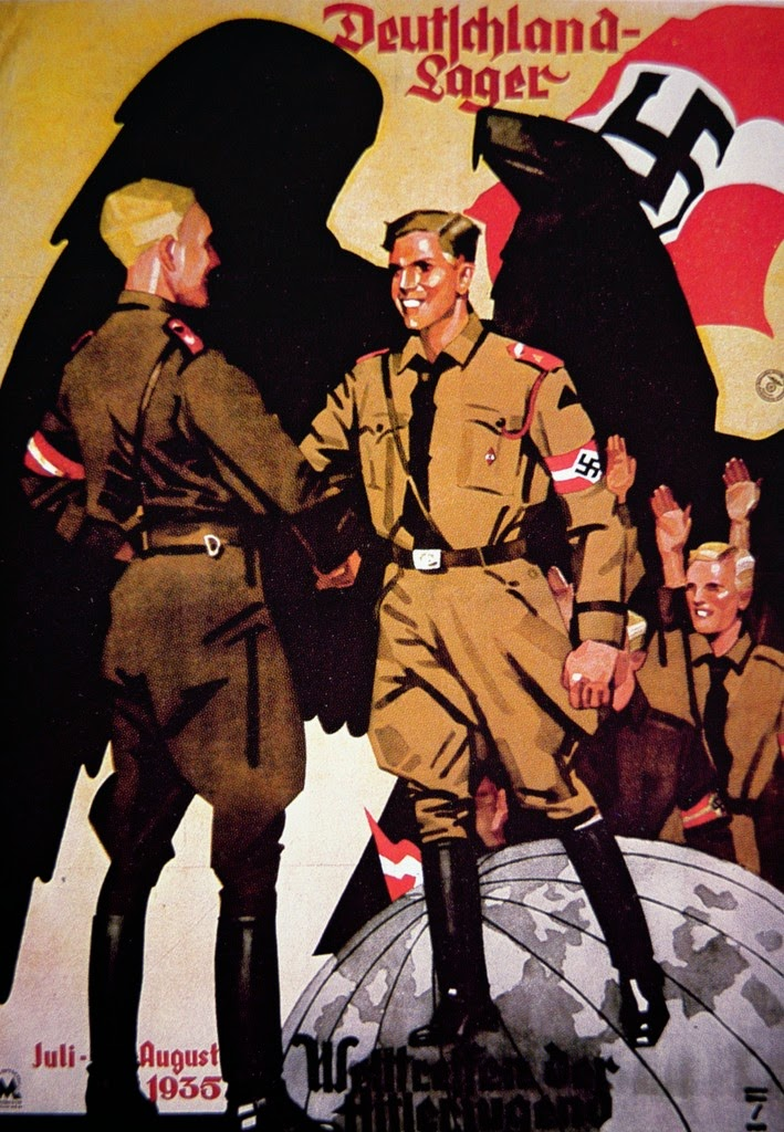 World War II In Pictures SS Recruiting Posters