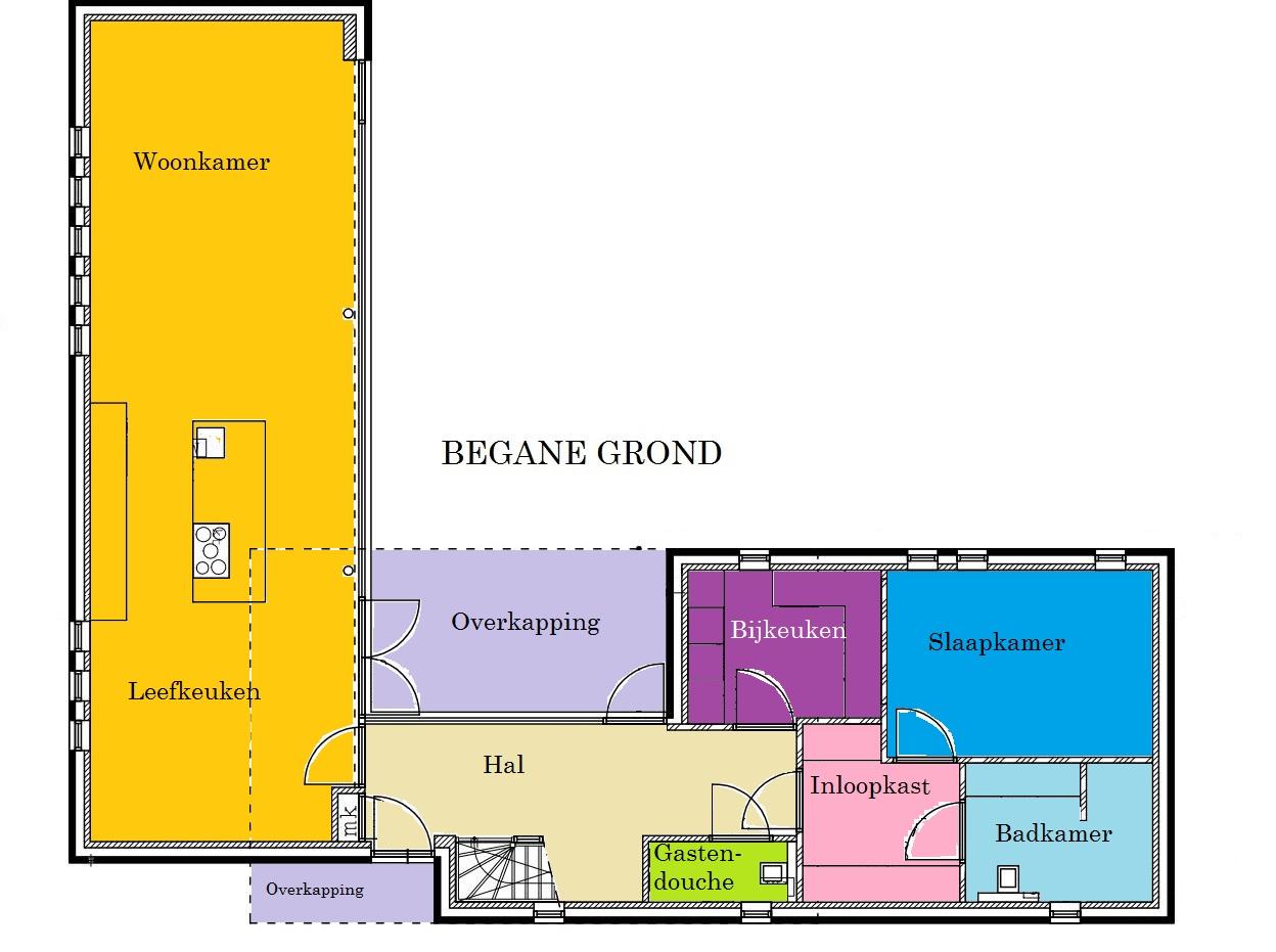 Ons nieuwe huis: De plattegronden