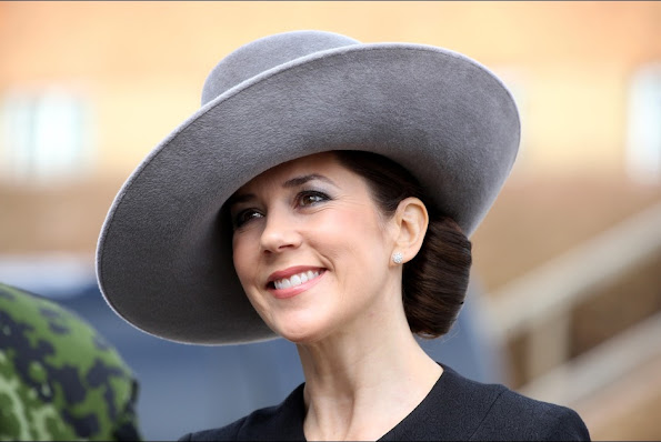 Crown Princess Mary of Denmark attended the 75th anniversary of the Nazi's occupation